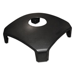 Rubbermaid® Commercial Landmark Series Replacement Part, Hood Top w/Hole, 26 x 26 x 10 1/4, Sable
