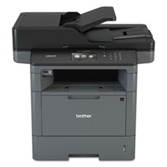Brother DCPL5650DN Business Laser Multifunction Printer with Duplex Print, Copy, Scan, and Networking