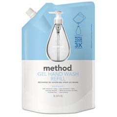Method® Gel Hand Wash Refill, Sweet Water, 34 oz Pouch