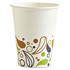 Boardwalk® Deerfield Printed Paper Cold Cups, 12 oz, 20 Cups/Sleeve, 50 Sleeves/Carton