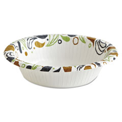Boardwalk® Deerfield Printed Paper Bowl, 12 oz, 50 Bowls/Pack, 20 Packs/Carton BWKDEER12BOWL