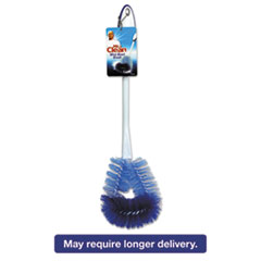 "Mr. Clean® Twisted Wire Bowl Brush, 11 1/2"" Handle,4"" dia., Plastic, White, 3/Box BUT440430"