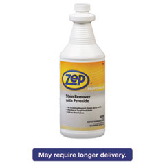 Zep® Professional Stain Remover with Peroxide, Quart Bottle ZPP1041705