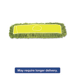 Boardwalk® Echo Dustmop, Synthetic/Cotton, 24w x 5d, Green BWKECHO245LGSP