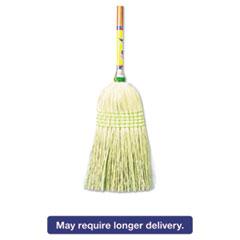 "Boardwalk® Parlor Broom, Corn Fiber Bristles, 42"" Wood Handle, Natural, 12/Carton BWK926CCT"