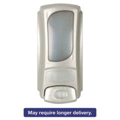 Dial® Professional Eco-Smart Dispenser for 15oz Refills,3.875 x 3.25 x 7.875,Pearl, Plastic DIA98585EA