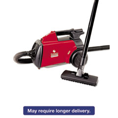 Sanitaire® Commercial Compact Canister Vacuum, 10lb, Red EURSC3683B