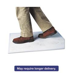 Crown Walk-N-Clean Dirt Grabber Mat w/Starter Pad, 31 1/2 x 25 1/2, Gray CWNWC3125SG