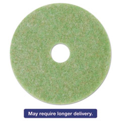 "3M Low-Speed TopLine Autoscrubber Floor Pads 5000, 16"", Sea Green, 5/Carton MMM18048"