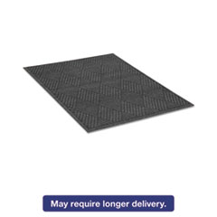 Guardian EcoGuard Diamond Floor Mat, Rectangular, 36 x 60 Charcoal MLLEGDFB030504