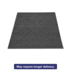 Guardian EcoGuard Diamond Floor Mat, Rectangular, 24 x 36, Charcoal MLLEGDFB020304