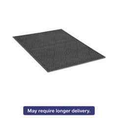 Guardian EcoGuard Diamond Floor Mat, Rectangular, 48 x 96, Charcoal MLLEGDFB040804