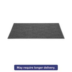 Guardian EcoGuard Diamond Floor Mat, Rectangular, 36 x 120, Charcoal MLLEGDFB031004
