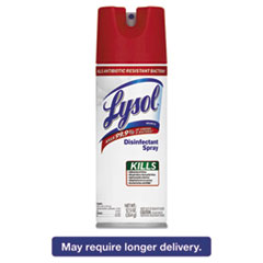 LYSOL® Brand Disinfectant Spray, Unscented, 12.5 oz Aerosol RAC92984EA