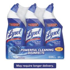 LYSOL® Brand Disinfectant Toilet Bowl Cleaner, Wintergreen Scent, 24 oz Bottle, 3/Pack RAC90704PK