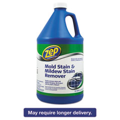 Zep® Commercial Mold Stain and Mildew Stain Remover, 1 gal Bottle ZPE1041694