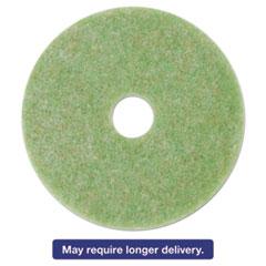"3M Low-Speed TopLine Autoscrubber Floor Pads 5000, 15"", Sea Green, 5/Carton MMM18047"