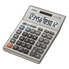 Casio® DM1200BM Desktop Calculator, 12-Digit LCD, Silver