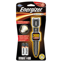 Energizer® Metal LED Flashlight, 2 AA, Chrome