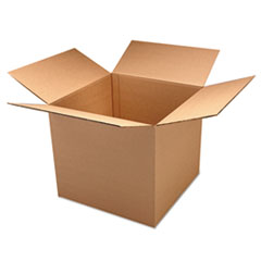 General Supply Corrugated Kraft Double Wall Shipping Boxes, 16l x 12w x 12h, 15/BD UFS161212DW