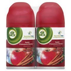 Air Wick® Freshmatic Ultra Spray Refill, Apple Cinnamon Medley,Aerosol,6.17oz,2/Pk, 3Pk/Ct RAC82680