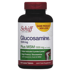 Schiff® Glucosamine Plus MSM Tablet, 150 Count
