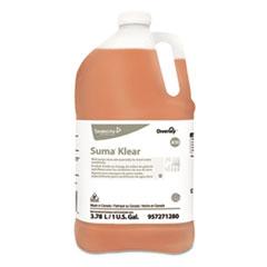 Diversey™ Suma Klear A10 Rinse Aid, 1 gal Bottle, 4/Carton