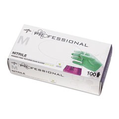 Medline Professional™ Nitrile Exam Gloves with Aloe Thumbnail