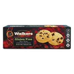 Walkers Gluten Free Shortbread, Chocolate Chip, 4.9 oz Box