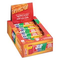 Jif™ Bars Peanut Butter Granola Bars, 1.4 oz Bar, 15/Box