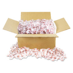 Office Snax® Candy Tubs, Starlight Peppermints, Individually Wrapped, 10 lb Value Size Box