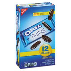 Nabisco® Oreo Cookies Single Serve Packs, Chocolate, 1.02 oz Pack, 12/Box