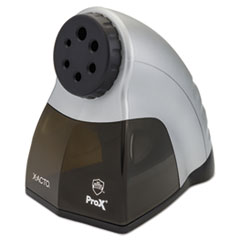 ProX Classroom Electric Pencil Sharpener, Silver/Black