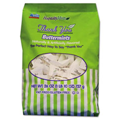 Hospitality Mints Thank You Buttermints Candies, 26 oz Bag