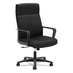 Basyx by HON VL604 Series High-Back Executive Chair, Black Fabric BSXVL604ES10