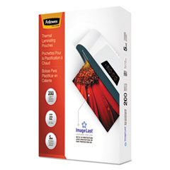 Fellowes® ImageLast(TM) Laminating Pouches with UV Protection