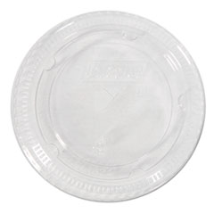 Dixie® Cold Drink Cup Lids for 16-24 oz Plastic Cold Cups, Clear,100/Pk, 10Pk/Ctn