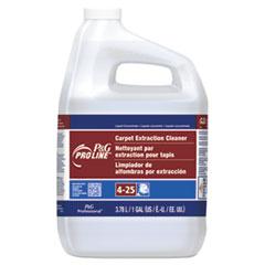 P&G Pro Line® #25 Carpet Extraction Cleaner, Peach Scent, 1 Gallon Bottle, 4/Carton