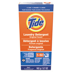Tide® Laundry Detergent Powder, 5.7 oz, 14/Carton