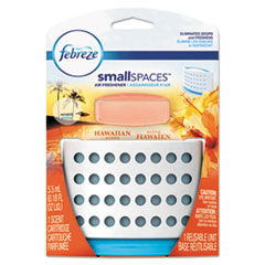 Febreze® smallSPACES, Hawaiian Aloha, 5.5 mL Kit, 8/Carton