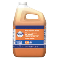 Dawn® Professional Heavy-Duty Floor Cleaner, Neutral Scent, 1gal Bottle, 3/Carton