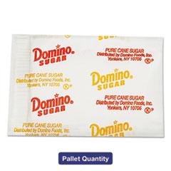 Domino® Sugar Portion Packets, 0.010 oz Packets, 2000/Carton, 72 Carton/Pallet