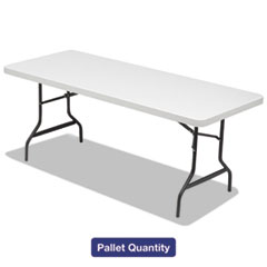 Alera® Folding Table, 72w x 30d x 29h, Platinum/Charcoal, 15/Pallet