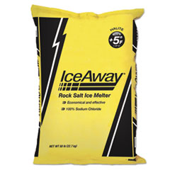 Ice-A-Way® Rock Salt, 50lb Bag