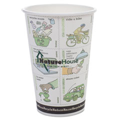 NatureHouse® Compostable Paper/PLA Corn Plastic Lined Hot Cups Thumbnail