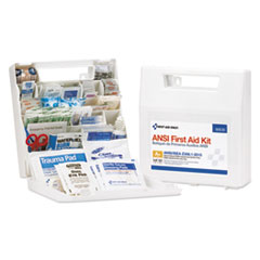 ANSI Class A+ First Aid Kit for 50 People, 183 Pieces