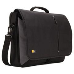 "Case Logic® 17"" Laptop Messenger, 3 3/8 x 17 3/4 x 13 3/4, Black"