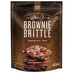 Sheila G's™ Brownie Brittle™ Brownie Brittle, Chocolate Chip, 5 oz, 12 Bags/Carton