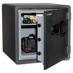FireKing® One Hour Fire and Water Safe with Electronic Lock, 3.66 cu. ft., Graphite FIRKY13131GREL