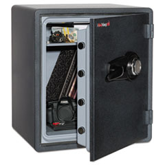 FireKing® One Hour Fire and Water Safe with Combo Lock, 5.50 cu. ft., Graphite FIRKY19151GRCL